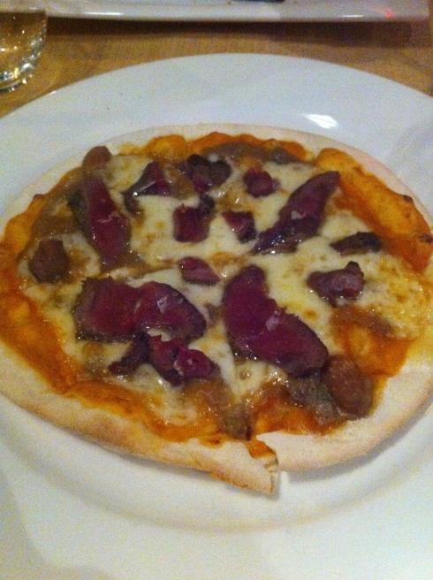 La Kasa de César Martín - Pizza de caza