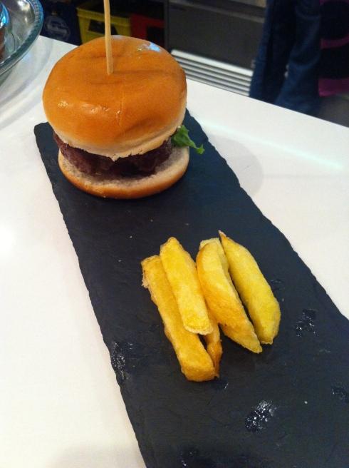 Morao - Hamburguesa con cheddar y bacon