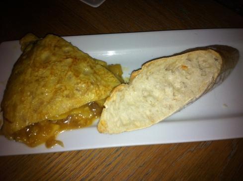 Makkila - Pincho de tortilla caramelizada