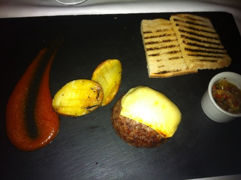 Bice - Hamburguesa de ternera de Guadarrama