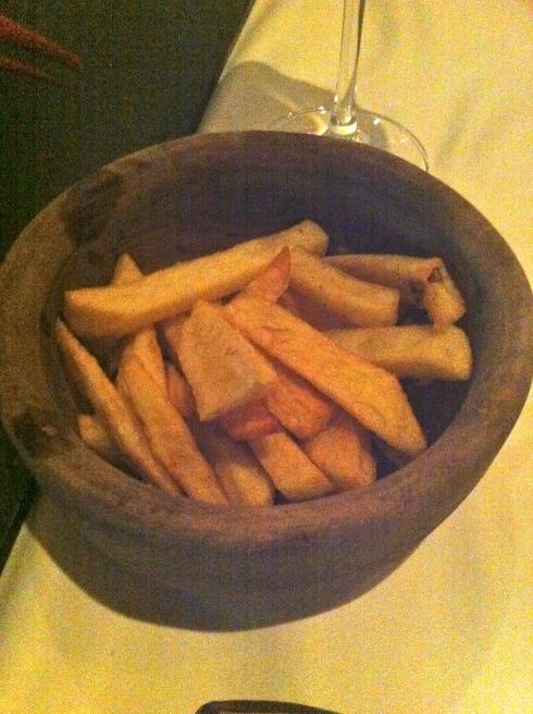 Bice - Patatas fritas de acompañamiento