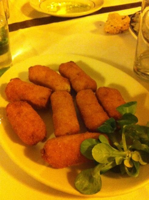 Sagaretxe - Croquetas de jamón