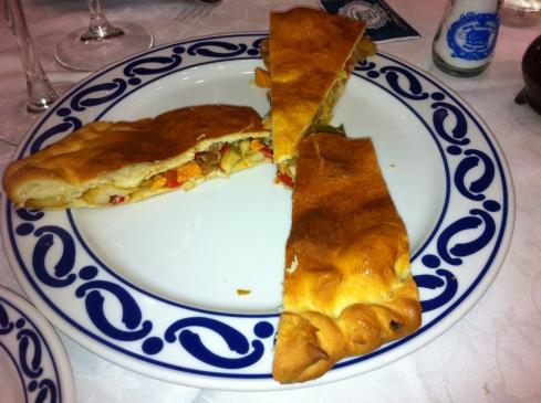 O'Caldiño - Empanada de pulpo