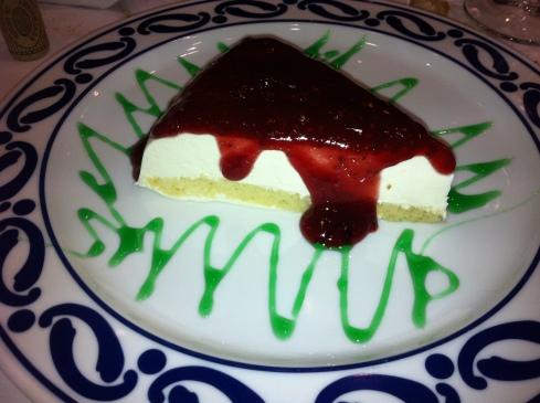 O'Caldiño - Tarta de queso