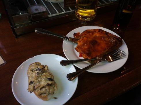Orixe - Empanada y pincho de setas