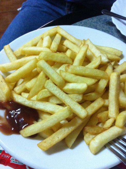 Bar Byblos - Patatas fritas