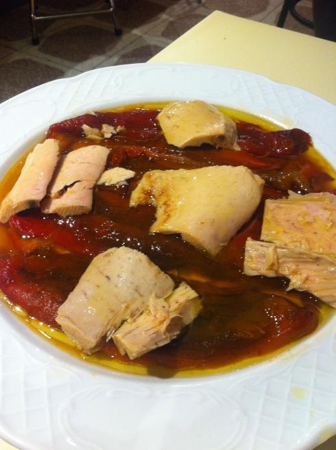 Sylkar - Ensalada de pimientos y ventresca