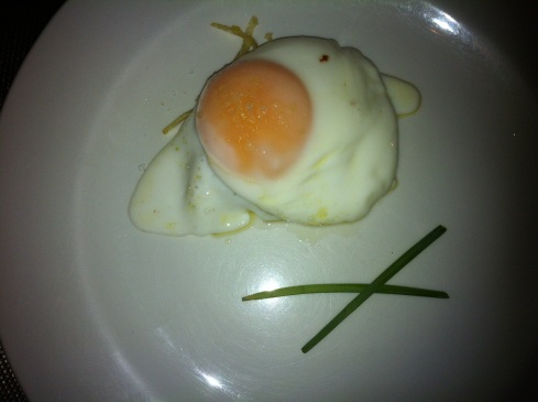 La Gastrotaberna - Huevo trufado