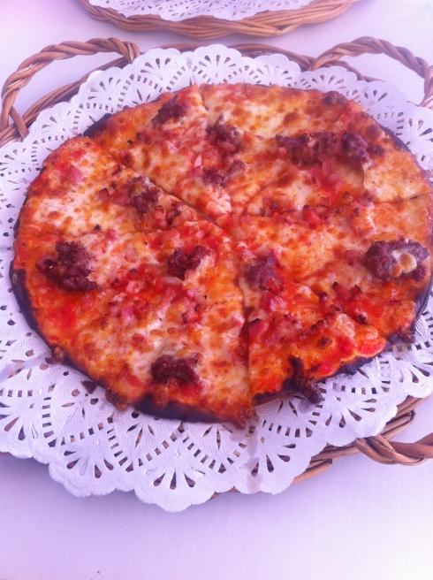 Pizza Sana - Pizza con carne