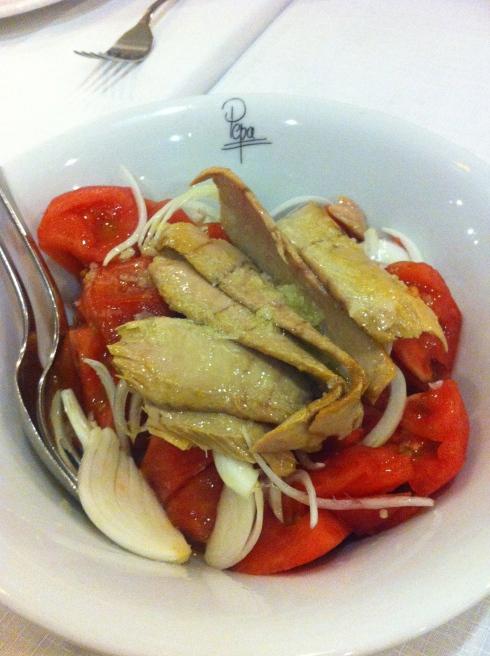 El Quenco de Pepa - Ensalada de tomate