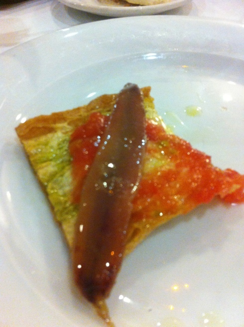 El Quenco de Pepa - Anchoas de Santoña con tomate y pan tostado