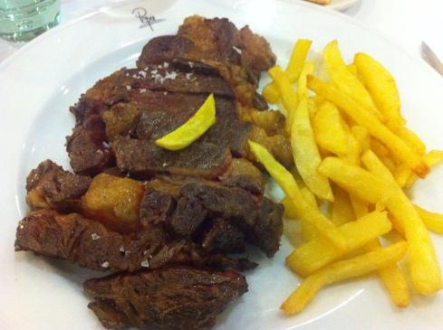 El Quenco de Pepa - Carne roja gallega fileteada