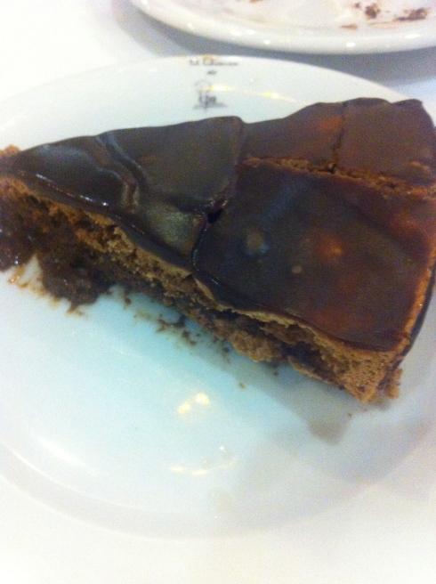 El Quenco de Pepa - Tarta de chocolate