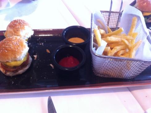 Quattro - Mini hamburguesitas