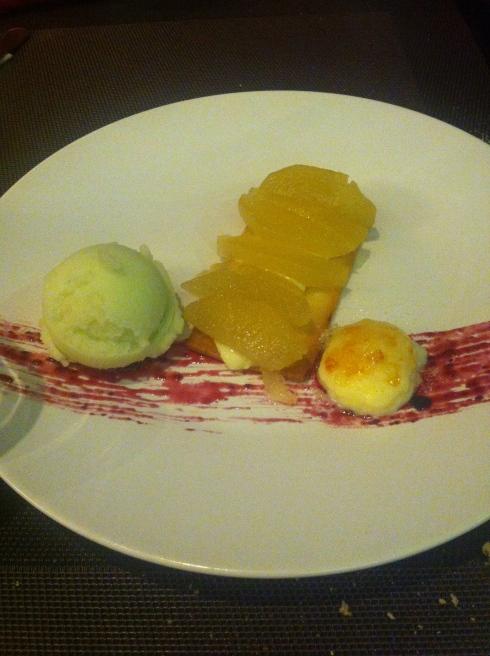 Mérimée - Tarta de manzana golden