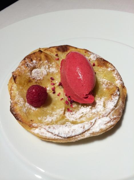 Alabaster - Tarta fina de manzana