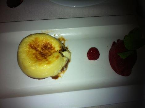Cosme - Tarta soufflé de queso