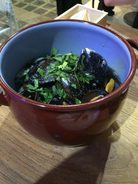 Atlántico - Mejillones en salsa de curry